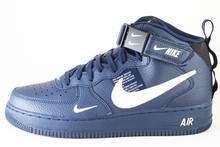 Nike NIKE AIR FORCE 1 MID '07 LV8 Obsidian/ White-Black