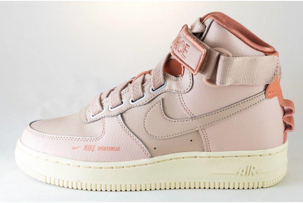 Nike W NIKE AIR FORCE 1 HI UT particle beige/ particle beige