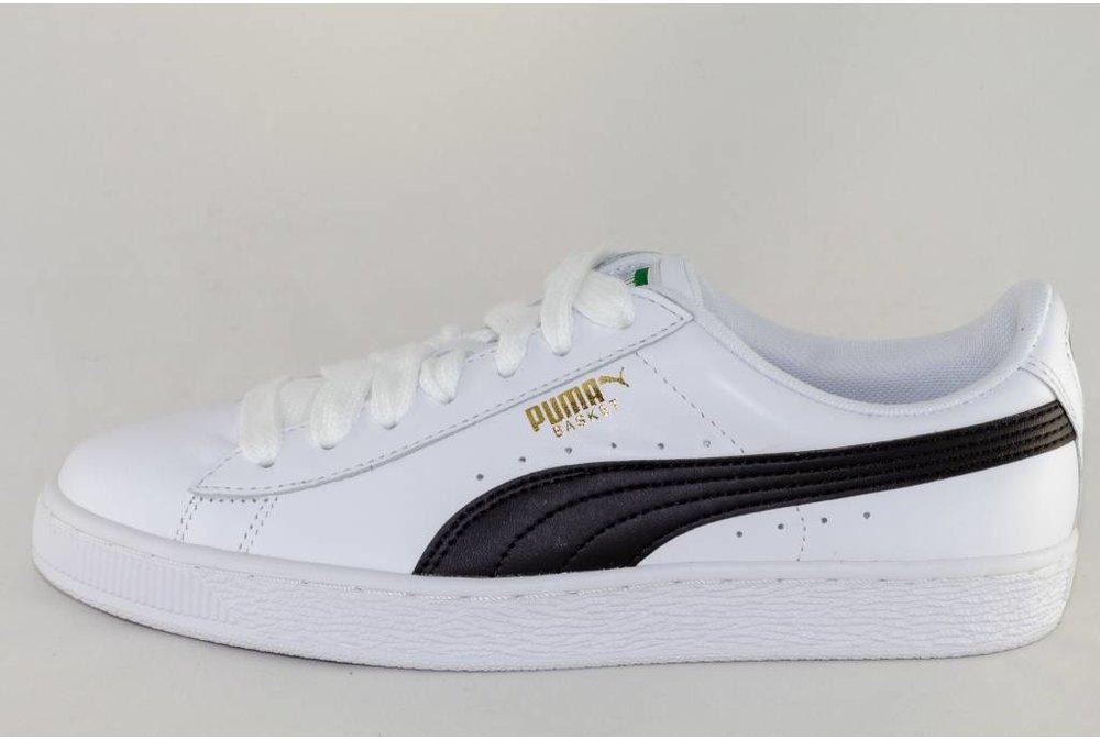 Puma PUMA BASKET CLASSIC LFS White-Black