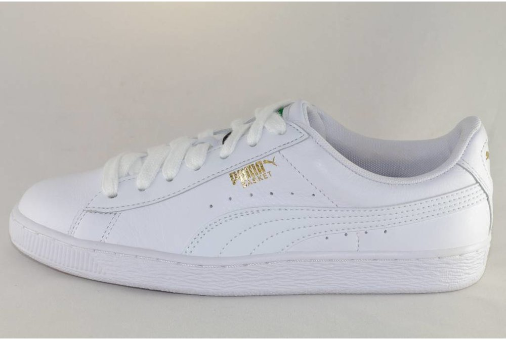 Puma U PUMA BASKET CLASSIC LFS White/ White