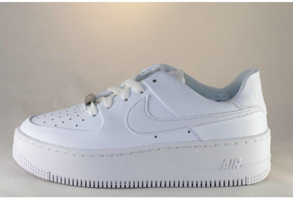 Nike NIKE AIR FORCE 1 SAGE LOW  White/ White/ White