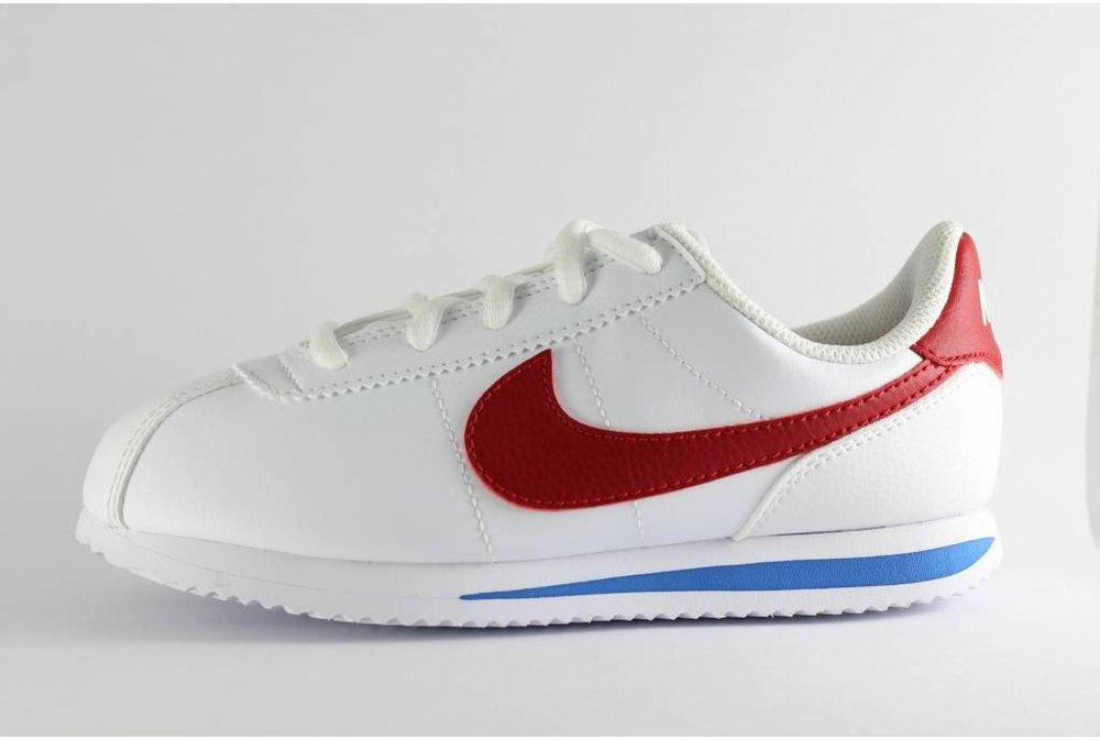 Nike J NIKE CORTEZ BASIC SL (gs) white/ varsity red