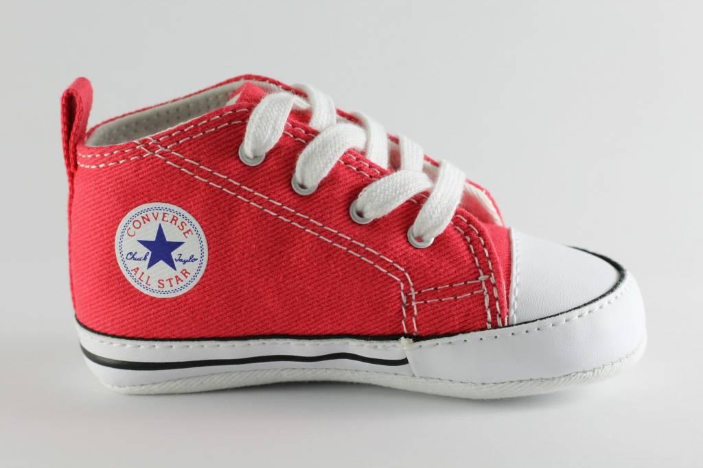 CONVERSE FIRST STAR HI Red