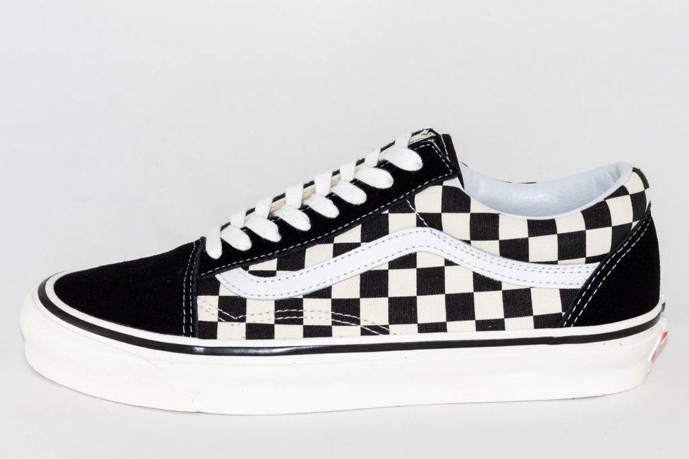 VANS VANS OLD SKOOL 36 DX (Anaheim Factory) Black/Checkerboard