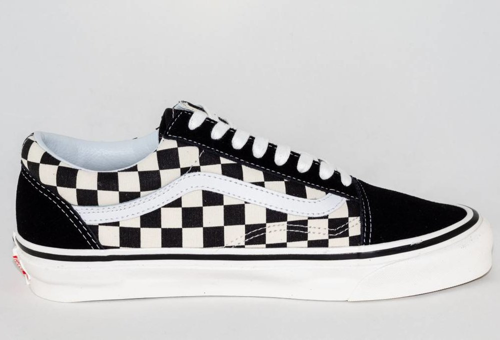 VANS OLD SKOOL 36 DX (Anaheim Factory) Black/Checkerboard