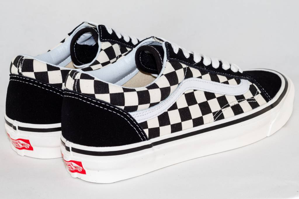 VANS OLD SKOOL 36 DX (Anaheim Factory) Black/Checkerboard