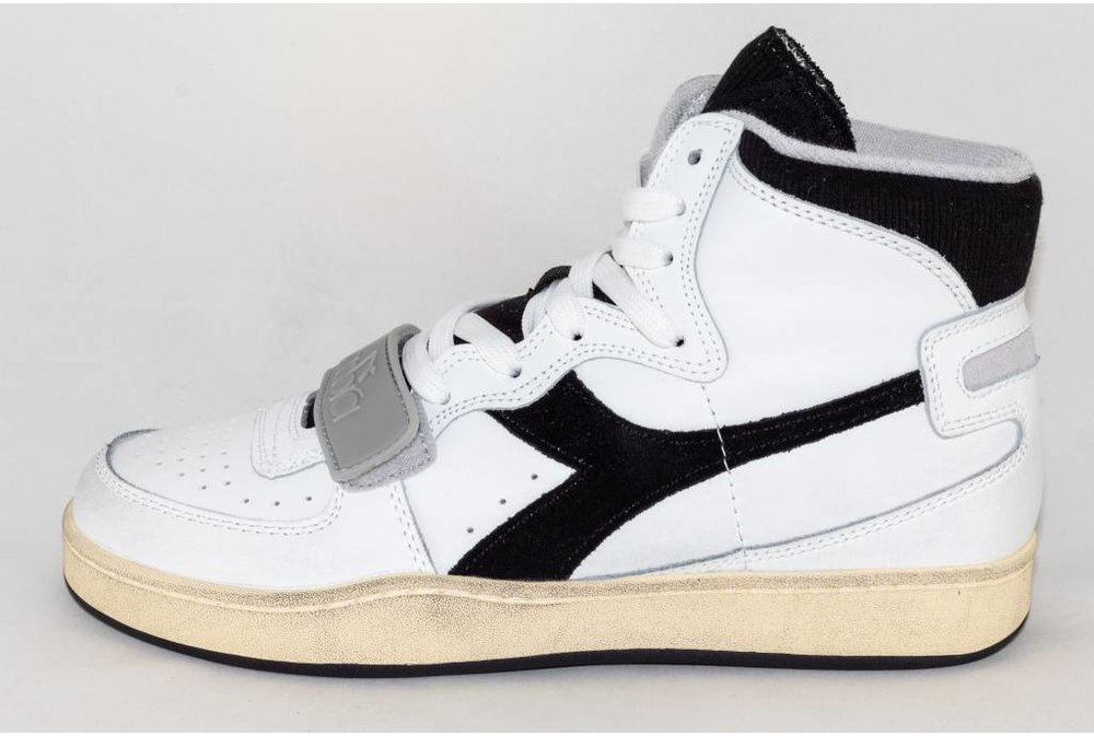 Diadora DIADORA MI BASKET USED white/ black