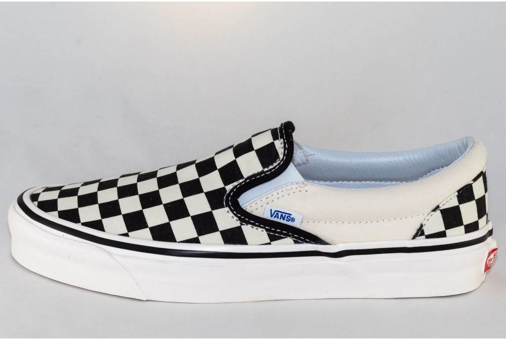 Vans VANS CLASSIC SLIP-ON ( Anaheim Factory) Blk&Wht Checkerboard