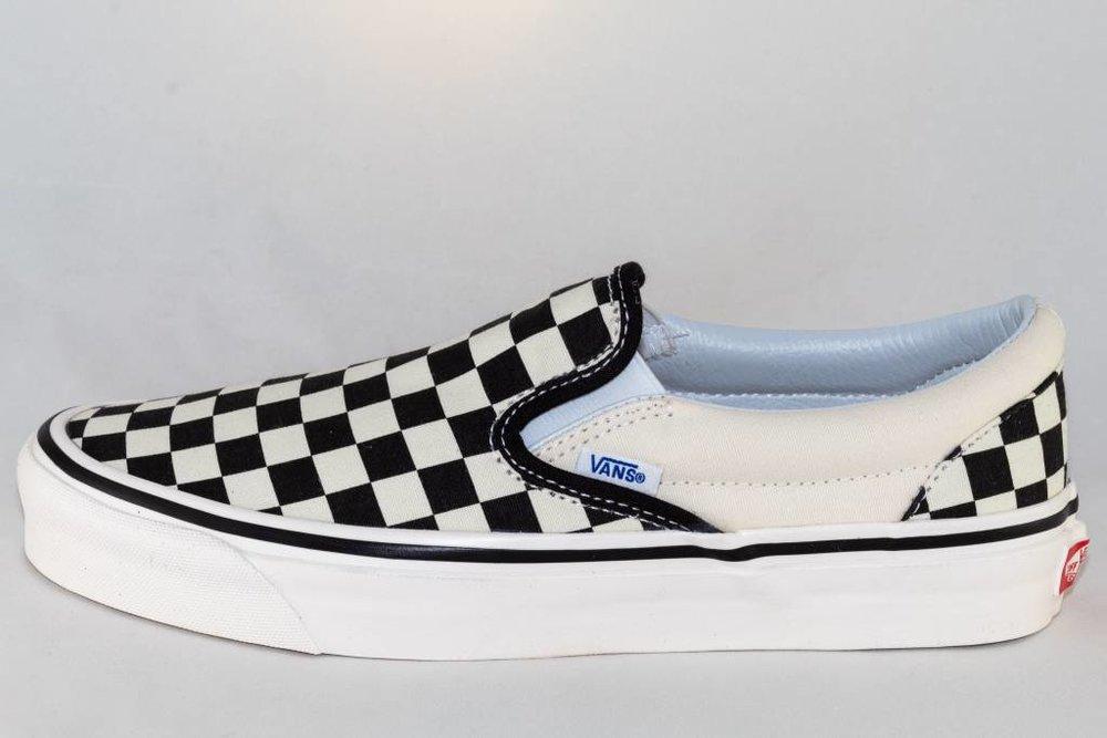 Vans VANS CLASSIC SLIP-ON ( Anaheim Factory) Blk&Wht Checkerboard