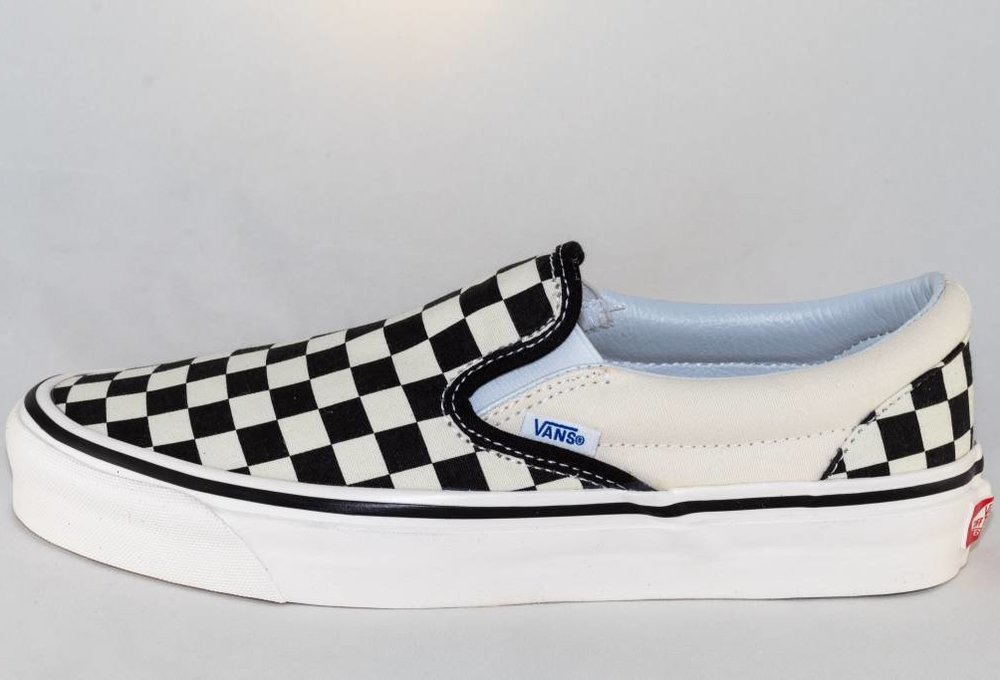 VANS CLASSIC SLIP-ON ( Anaheim Factory) Blk&Wht Checkerboard