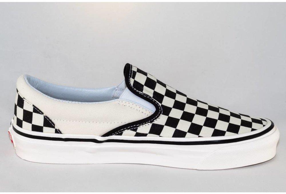 Vans CLASSIC SLIP-ON ( Anaheim Factory) Blk&Wht Checkerboard