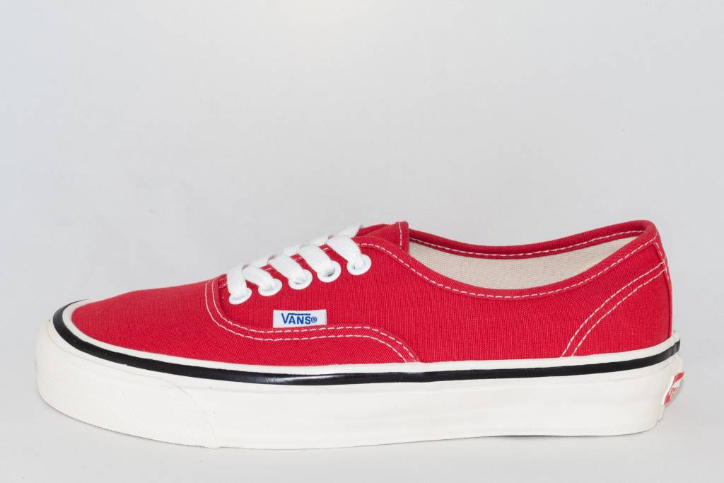 Vans VANS AUTHENTIC 44 DX (Anaheim Factory) Racing Red