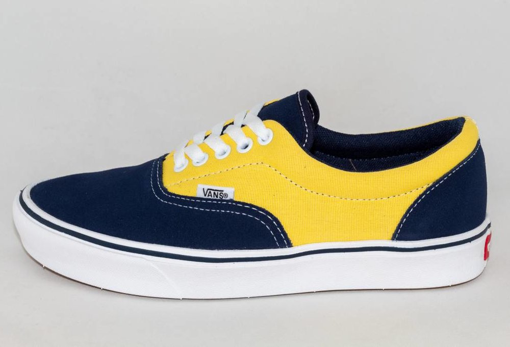 Vans ERA COMFYCUSH (Suede/ Canvas) Dress Blue