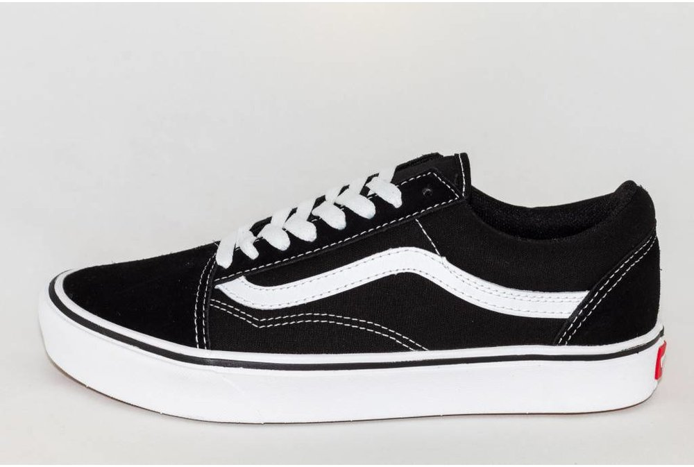 Vans VANS OLD SKOOL COMFY CUSH  Black/ True White