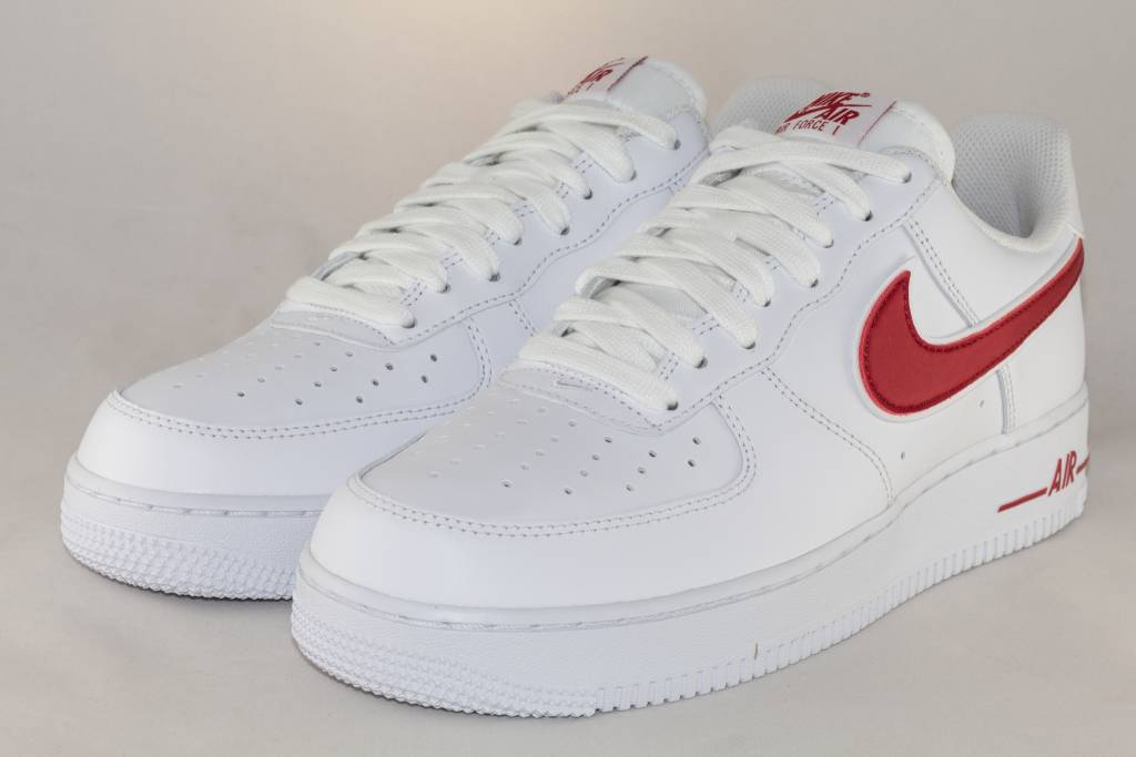 Nike M NIKE AIR FORCE 1 '07 3 White/ Gym Red
