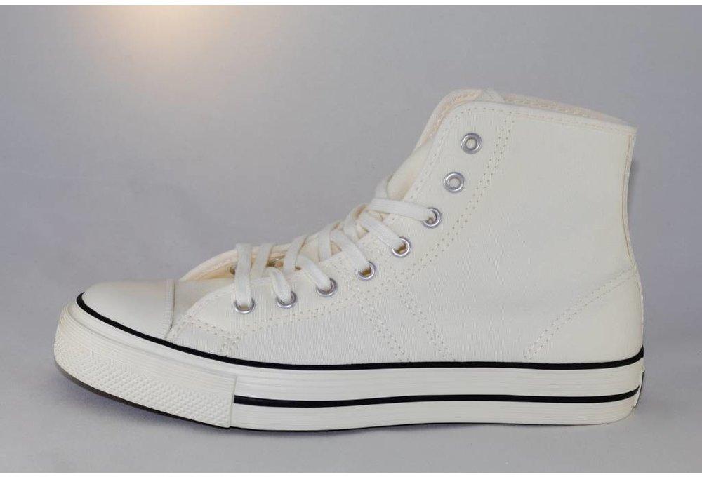 Converse  LUCKY STAR Hi Egret/Black/Egret
