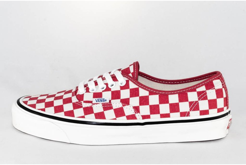 Vans VANS AUTHENTIC 44 DX (anaheim factory) Og Red