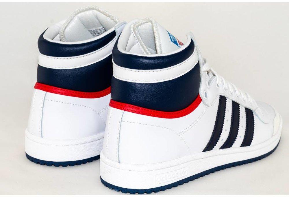 premium selection cf6e1 9918d Adidas ADIDAS TOP TEN HI Neowhi  Nny  Colred