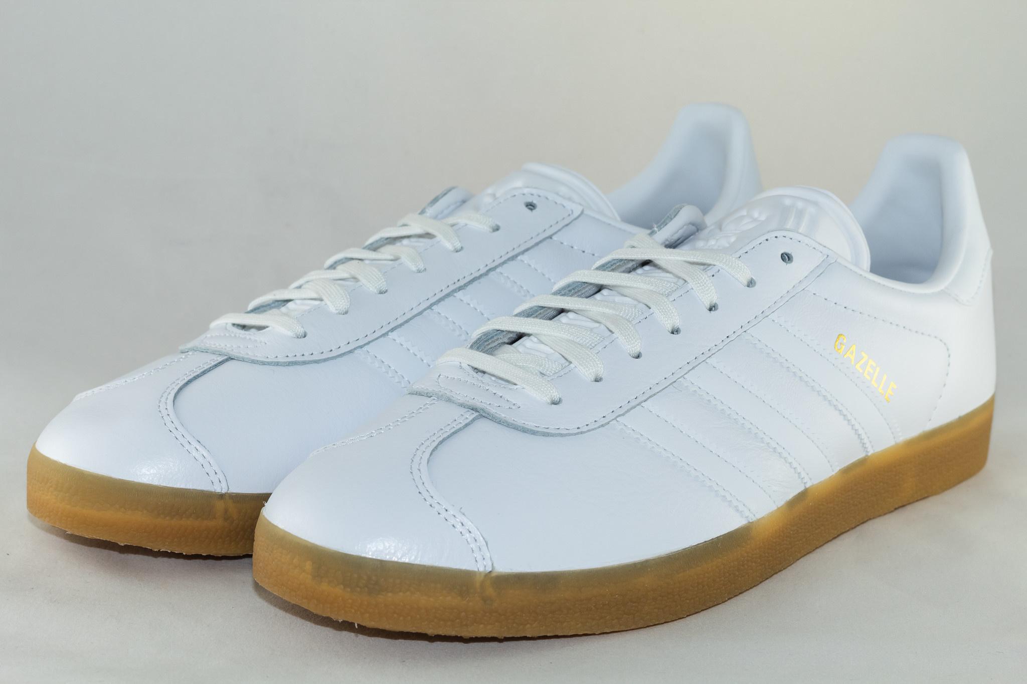 Adidas GAZELLE Ftwwht/ Ftwwht/ Gum4