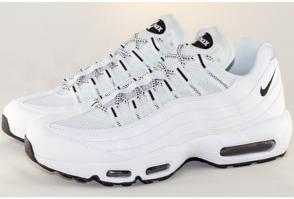 Nike NIKE AIR MAX 95 White/Black-Black