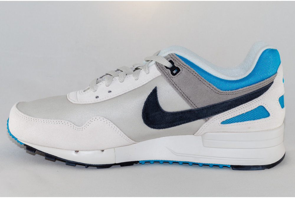 Nike M NIKE PEGASUS '89 SE Light Bone/ Black- Vivid Blue