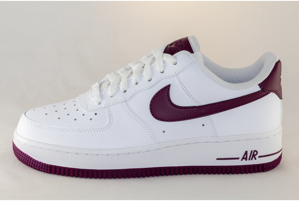 Nike NIKE WMNS AIR FORCE 1 '07 White/Bordeaux