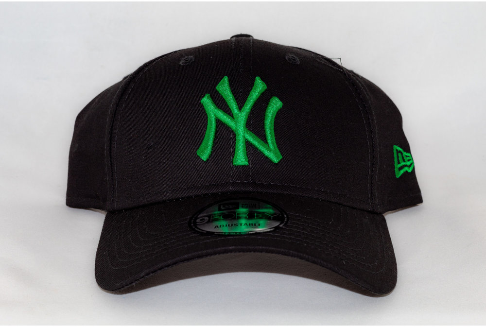 New Era NEW ERA  940 LEAG BASIC BLK/GREEN