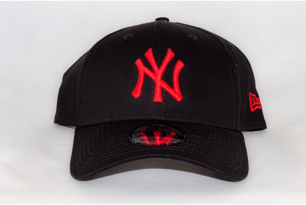 New Era NEW ERA 940 LEAG BASIC BLK/ Deep Red
