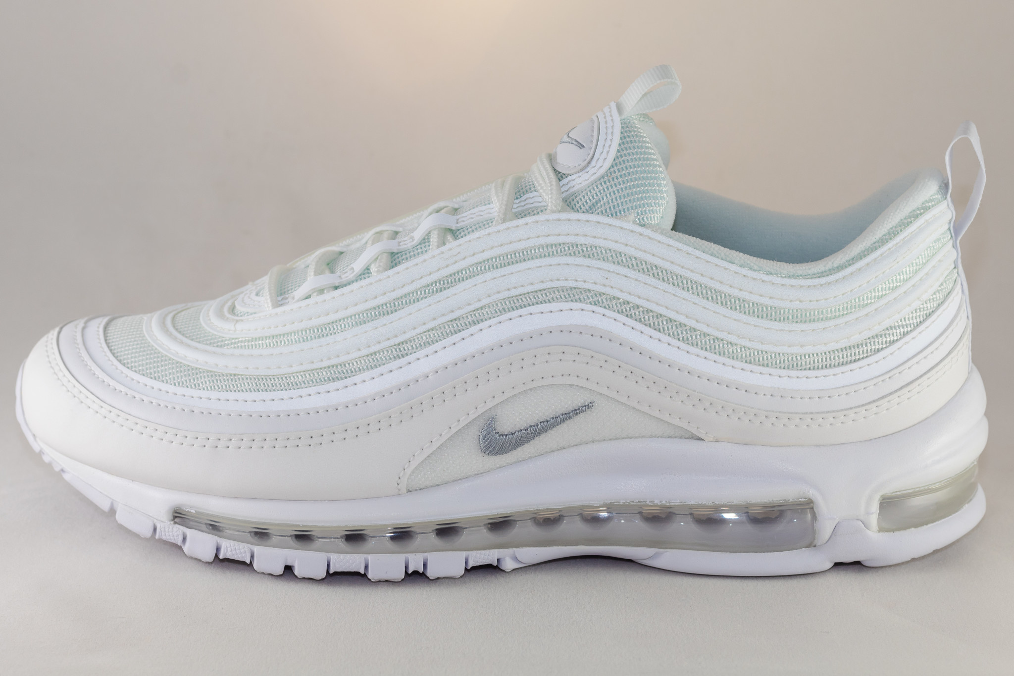 Nike AIR MAX 97 White/ Wolf Grey-Black