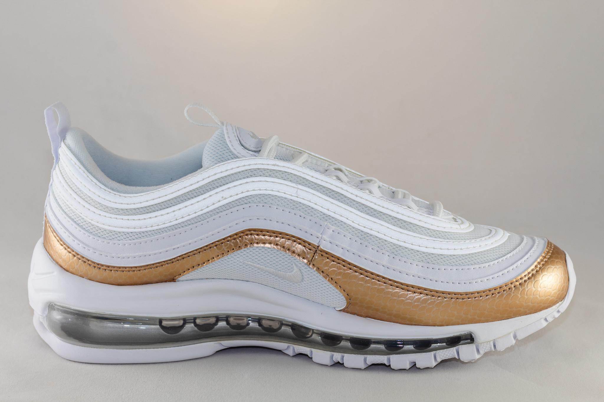 Nike  AIR MAX 97 EP (GS) White/ White- Blur