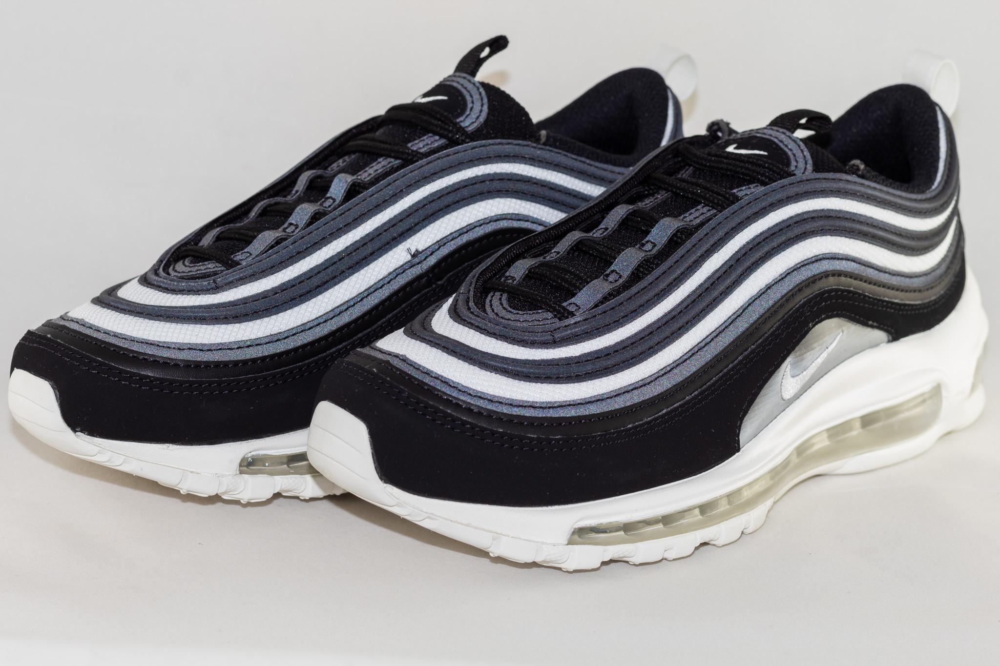 Nike W AIR MAX 97 Black/ Platinium Tnt