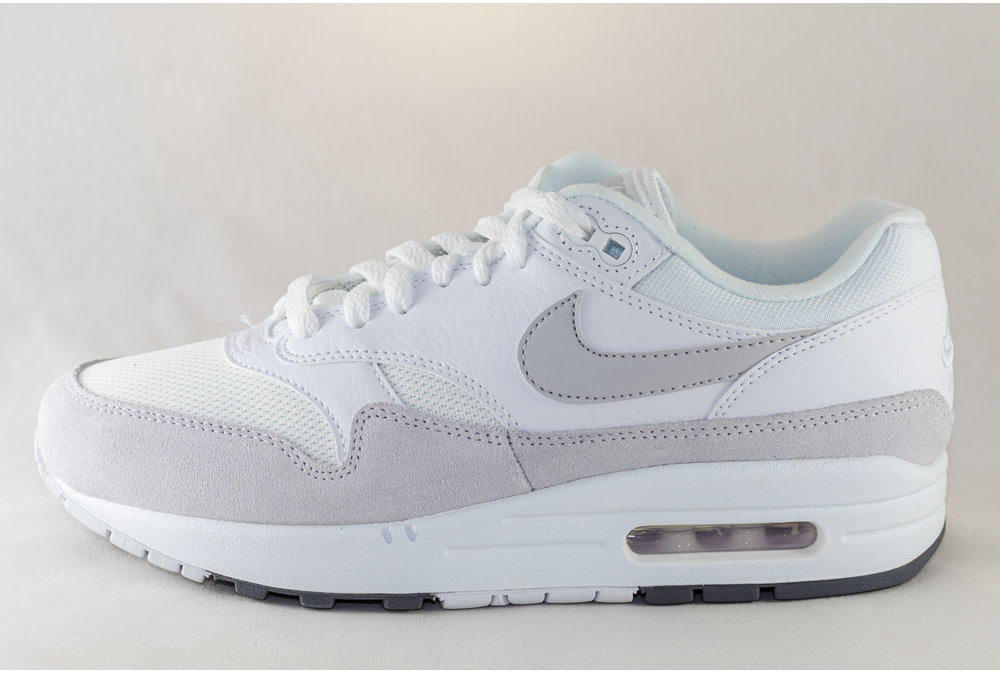 Nike NIKE AIR MAX 1 White/ Pure Platinium- Cool Grey