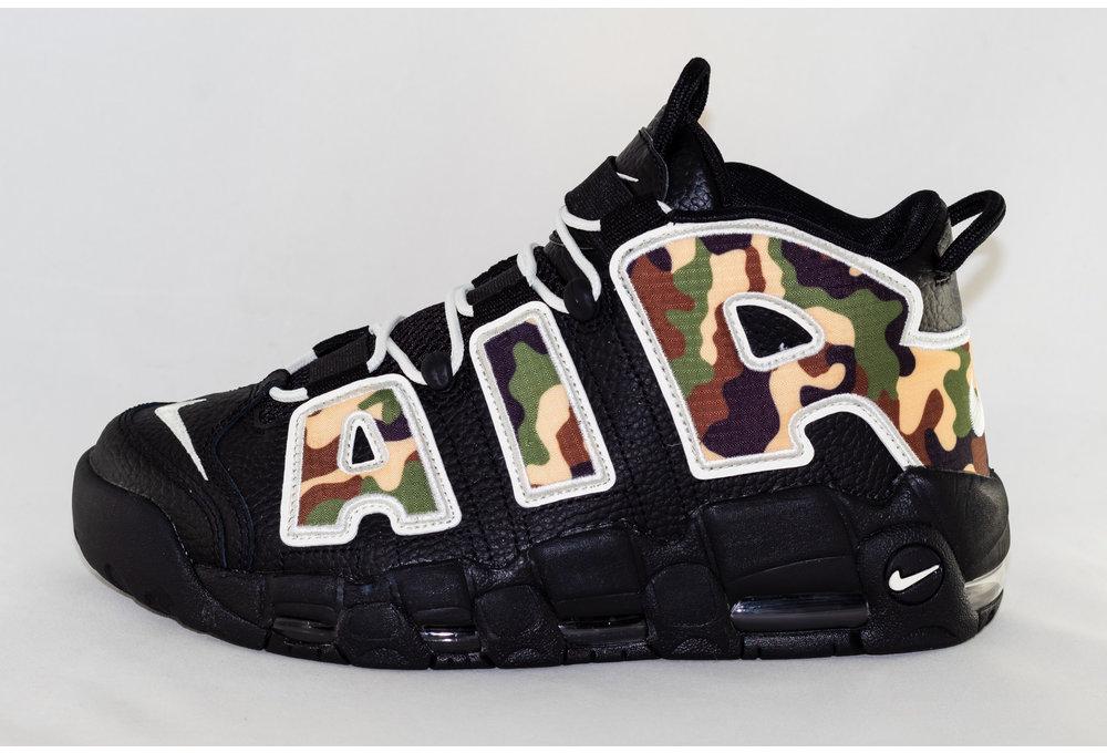 Nike AIR MORE UPTEMPO '96 QS SU 19 Black/ Sail-Lt British Tan