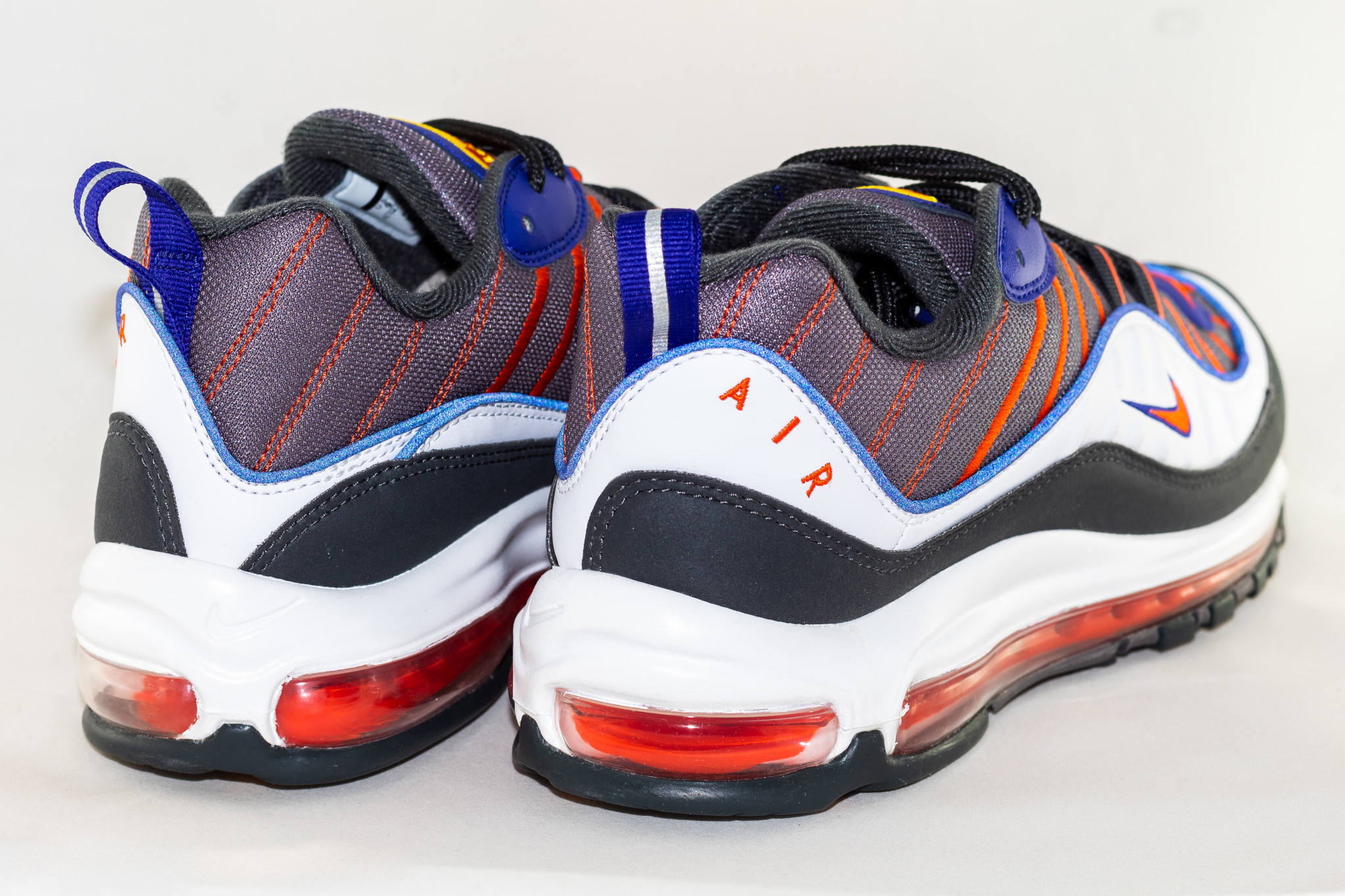 Nike AIR MAX 98 Gunsmoke/ Team Orange