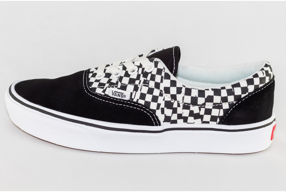 Vans VANS ERA COMFYCUSH (TEAR CHECK) Black/ True White