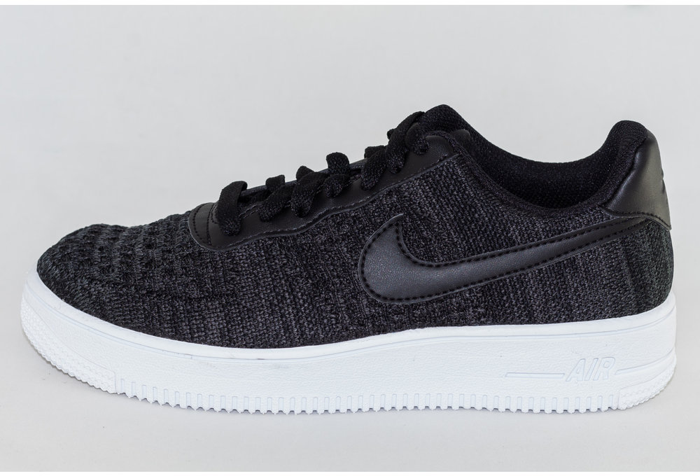 Nike NIKE AIR FORCE 1 FLYKNIT 2.0 Black/ Anthracite- White