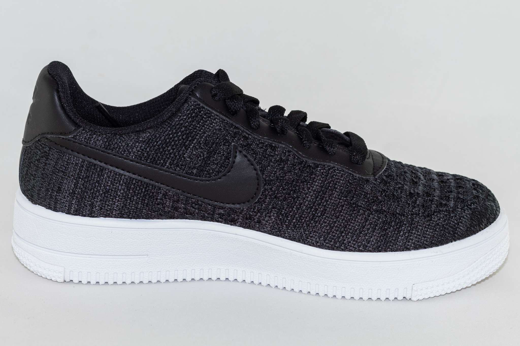 NIKE AIR FORCE 1 FLYKNIT 2.0 Black/ Anthracite- White