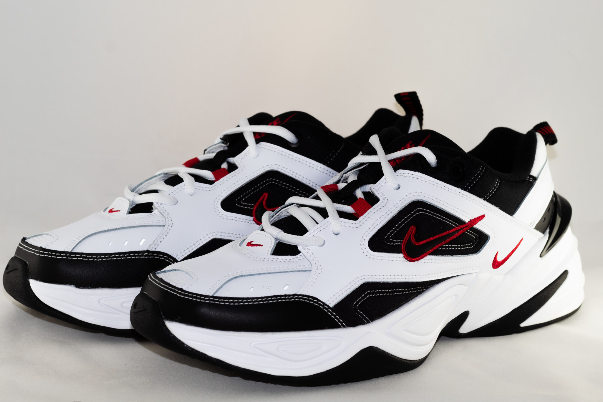 Nike M2K TEKNO White/ Black- University Red