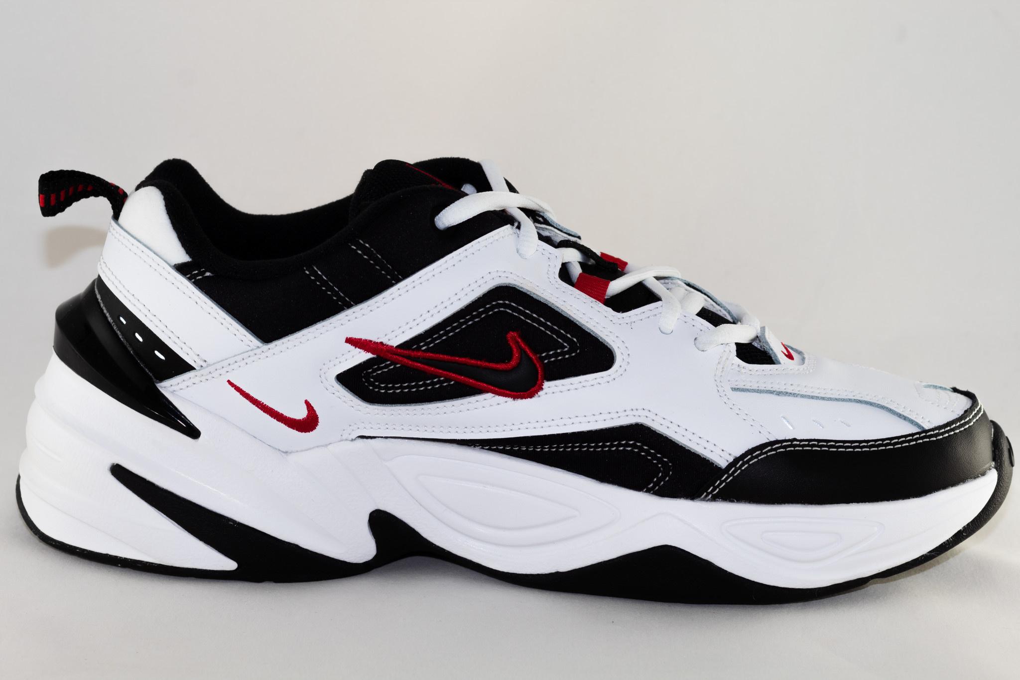 Nike NIKE M2K TEKNO White/ Black- University Red