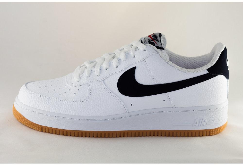 Nike NIKE AIR FORCE 1 White/ Obsidian- University Red