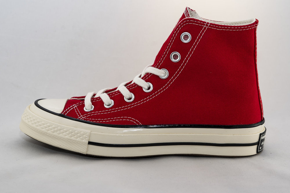 CONVERSE CONVERSE ALL STAR 70 HI Enamel Red/ Egret/ Black