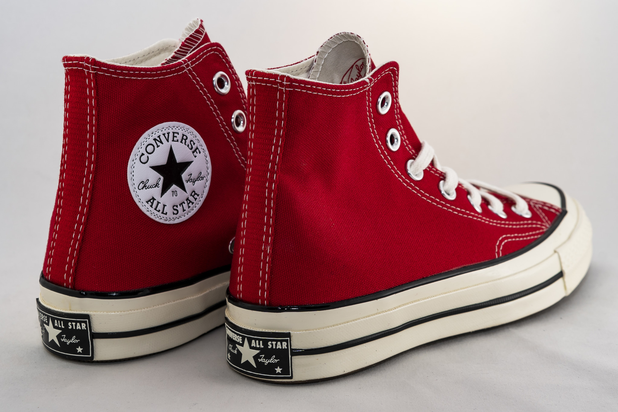 CONVERSE ALL STAR 70 HI Enamel Red/ Egret/ Black