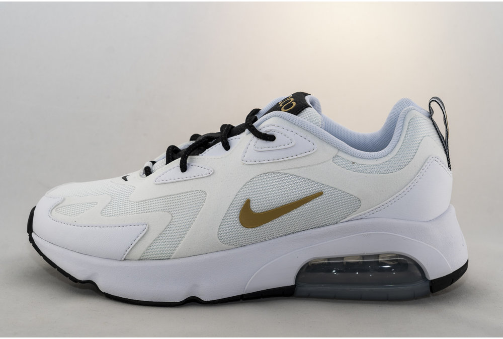 Nike NIKE AIR MAX 200 White/ Metallic Gold/ Black