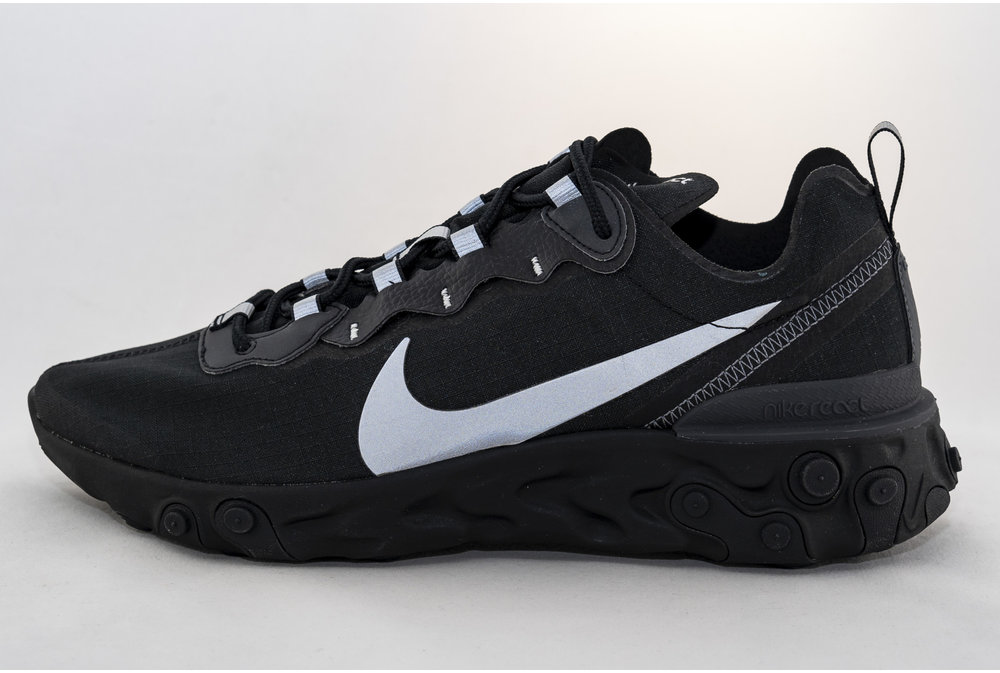 Nike NIKE REACT ELEMENT 55 SE  Black/ Anthracite