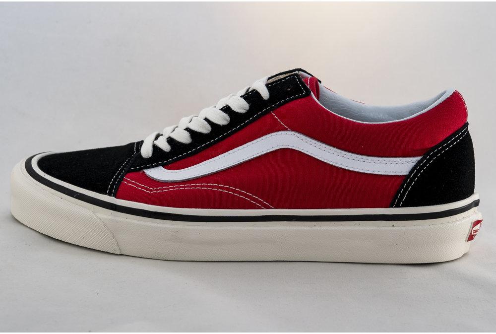 Vans VANS OLD SKOOL 36 DX  (Anaheim Factory) Og Black/ Red