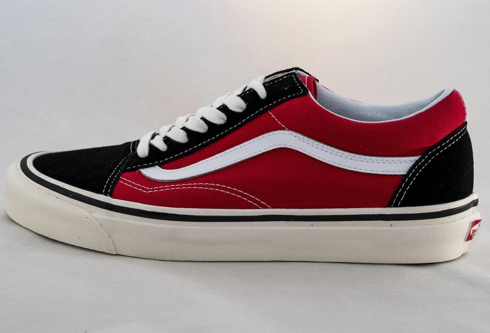 VANS OLD SKOOL 36 DX (Anaheim Factory) Og Black/ Red