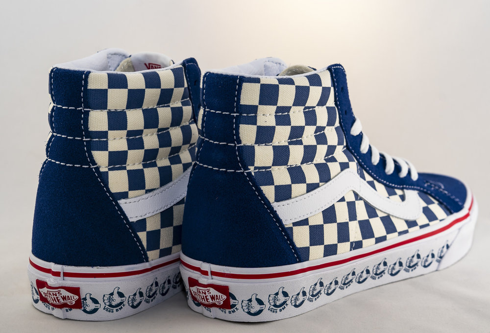 Vans SK8-HI REISSUE (Vans BMX) True Navy/ White