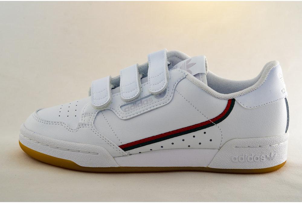 Adidas J ADIDAS CONTINENTAL 80 CF Ftwwht/ Ftwwht/ crywht