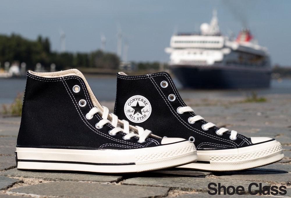 CONVERSE ALL STAR 70 HI Black /Black/ Egret