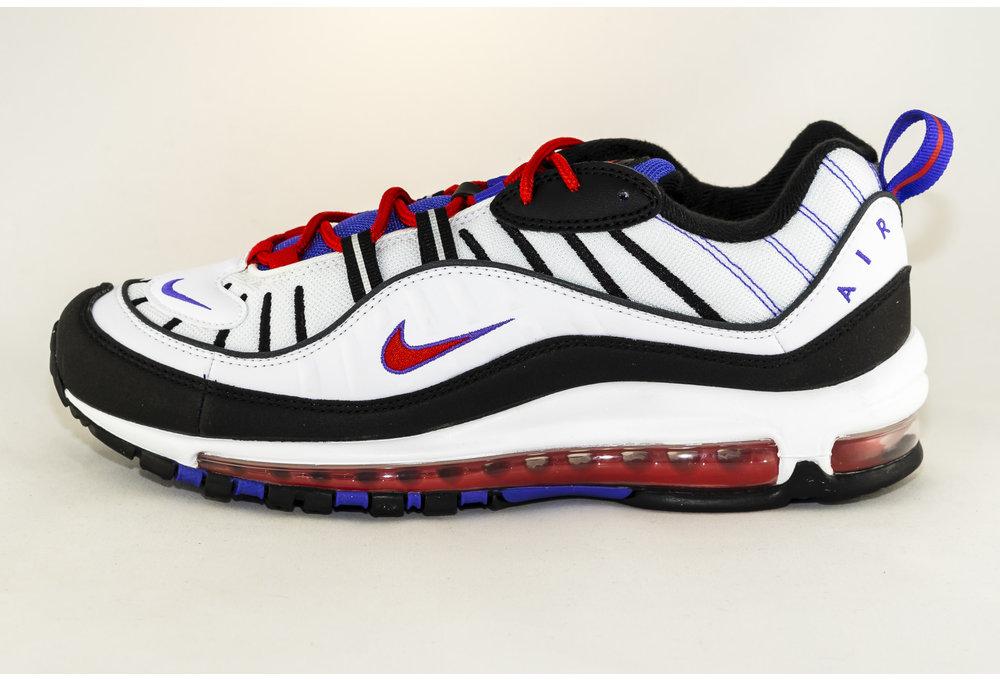 Nike NIKE AIR MAX 98 White/ Black- Psychic Purple